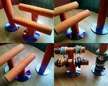 DIY stojak na bransoletki ;)