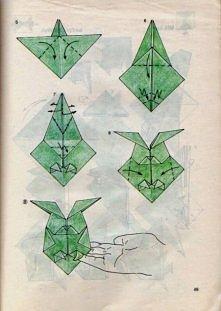 Jak złożyć sowę origami z j...