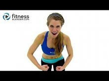 45 Minute HIIT & Total body Toning Tabata Workout - High Intensity Interval Training Workout