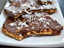 Herbatniki w karmelu i czekoladzie  Mój ulubiony przepis na słodkie domowe co...