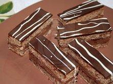 Ciastka czekoladowo - orzechowe