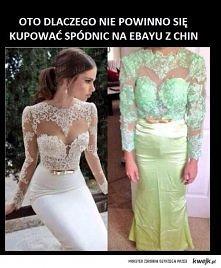 a widziałam tę sukienkę tut...