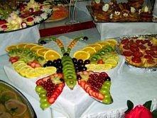 motyl z owocow