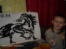 koń wykonany motodom origami