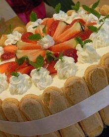 Najlepszy tort TRUSKAWKOWY na świecie !!!