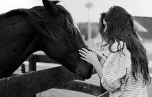 Uwielbiam ten stan, kiedy mogę pobyć sam na sam z koniem...