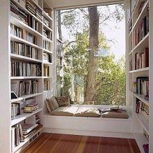 Moja wymarzona biblioteka w domu!