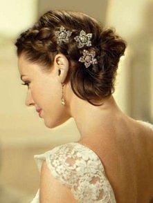 ślubne fryzury dla kobiet