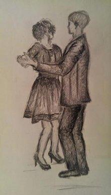 mój pierwszy rysunek od pra...