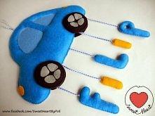 Filcowe literki - imię dziecka :) Zapraszam na mojego bloga - kliknij w zdjęcie :)