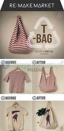 torba z t-shirta