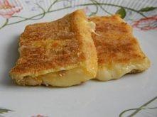 Ser smażony - w stylu czeskim    Ser smażony (1 porcja) - 2 grube plastry żół...
