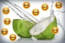 Woda kokosowa to prawdziwa bomba witamin i minerałów? Znakomicie uzupełnia za...