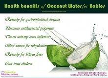 Woda kokosowa - korzyści zdrowotne dla dzieci