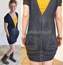 co zrobić ze starych jeansów