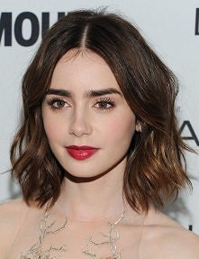 Lily Collins look