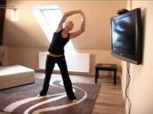 domowy aerobik odc 1 tv morąg - ćwiczenia na boczki