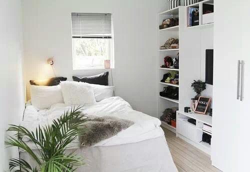 świetna Aranżacja Małej Sypialni Na Design Zszywkapl