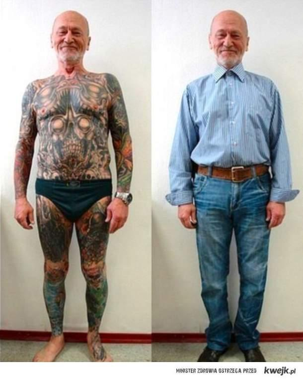 Tatuaże Na Starośćjak Wygadaja Na Tatuaże Zszywkapl