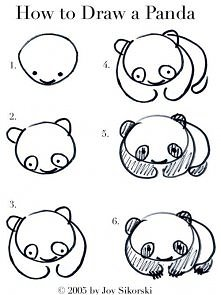 Jak narysować pandę? :)