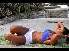 Trening brzucha.Czuć palące mięsnie :))