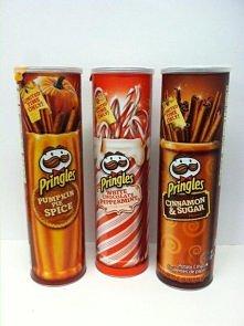Limitowane edycje czipsów Pringles. Bardzo ciekawe smaki ;)