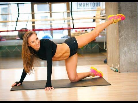 Ćwiczenia Sylwii Wiesenberg na seksowne nogi i pośladki [RUSZ SIĘ] Super ćwiczenia i uda trochę palą :D :3
