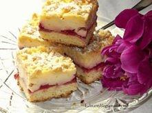 Ciasto z truskawkami i budy...