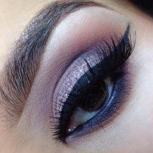 Piękny makijaż np.na jakieś wyjście <3