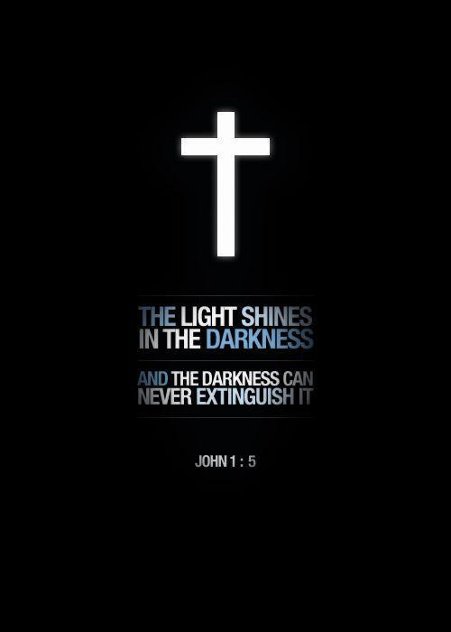 A światłość W Ciemności świeci I Ciemność Jej Nie Ogarnę Na