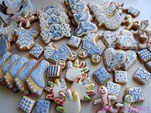 Ciasteczka z okazji narodzin Bruna:) Więcej moich ciastek na FB: Sweet Project