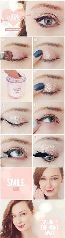 make-up.Piękne oczka ;3