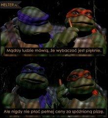 Wojownicze Żółwie Ninja - pamiętam jak oglądałam to z bratem :)