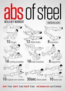 MOCNE! ćwiczenia na brzuch,...