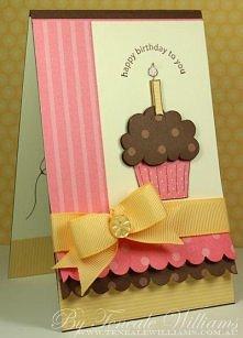 kartka urodzinowa.. słodka