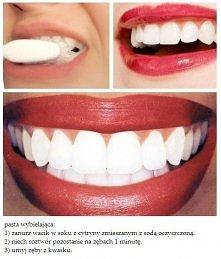 wybielająca pasta do zębów