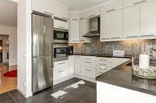 Jak wam się podoba wystrój kuchni - metalik + biel