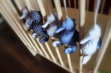 Koniki morskie do pokoju dziecięcego - więcej klik w foto