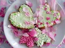Personalizowane ciasteczka jako podziękowania da gości weselnych - po więcej ...