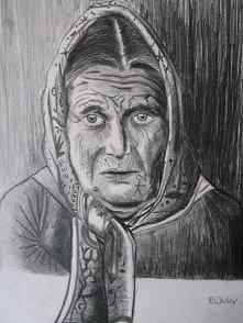 Portret ołówek