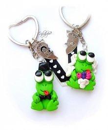 prześliczne żabki