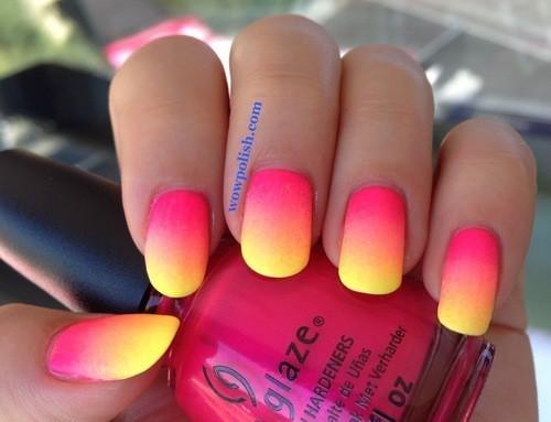 Jak wam się podobają letnie paznokcie ???