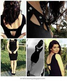 Tym razem uszyłam sobie małą czarną :) Co Wam się podoba a co byście zmieniły ?(Będę wdzięczna za wszelkie sugestie).:)