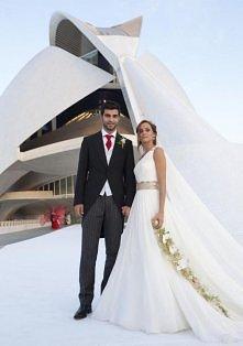 Alicia Roig i Raúl Albiol: zagłosuj na najpiękniejszą Pannę Młodą wśród żon p...