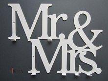 Czy ten Pan i Pani są w sobie zakochani .... Mr&Mrs świetna propozycja dla młodej pary ;)