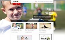 """Strona dla szkoły """"Rekreo"""" Potrzebujesz strony internetowej? Napisz do nas."""