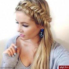 coś dla długich włosów ;)  myśle że dobre rozwiązanie na lato i nie tylko :)