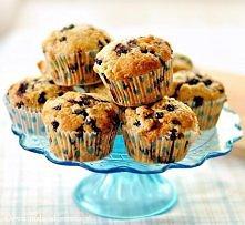 Muffiny z jagodami i krówka...