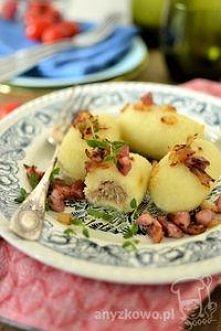 """Kartacze z mięsem Kartacze zwane inaczej """"cepeliny"""" względu na charakterystyc..."""