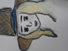 kredki pastelowe, szybki rysunek... czyli bazgroły w moim wykonaniu xd